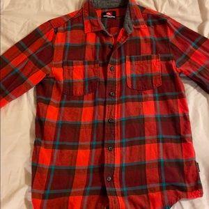 (3 FOR $12!) Quicksilver Flannel